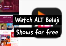 Watch alt balaji shows for free