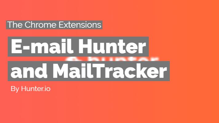 E-mail Hunter and MailTracker