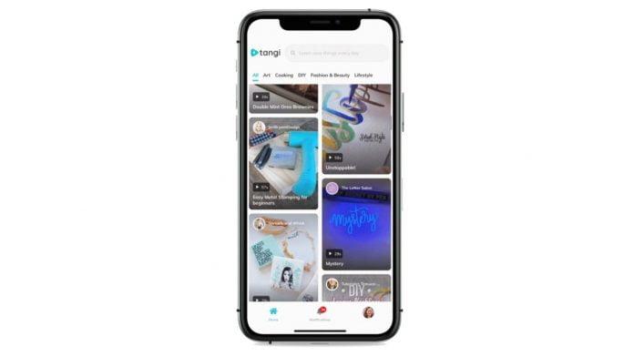 TikTok rival Tangi app