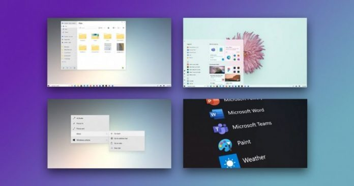 Windows 10 new UI