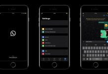 WhatsApp Dark mode Android iOS