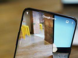 Google lens feature
