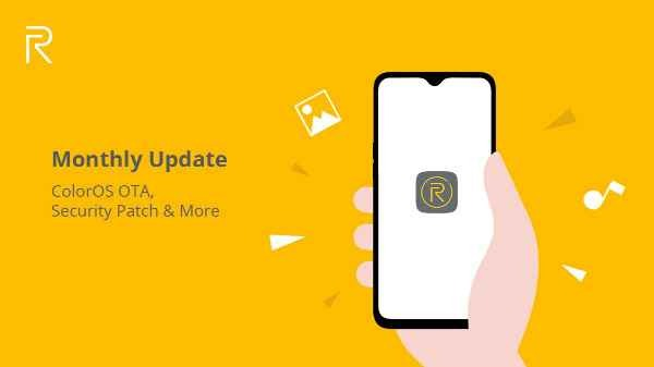 realme OTA update to remove banned apps