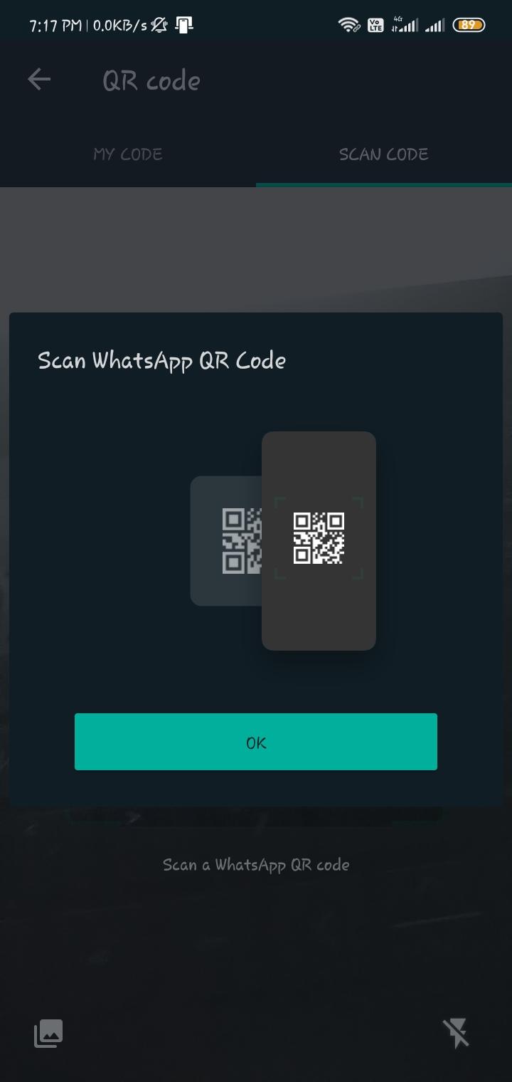 WhatsApp, qr code scan , add whatsapp contacts via qr code