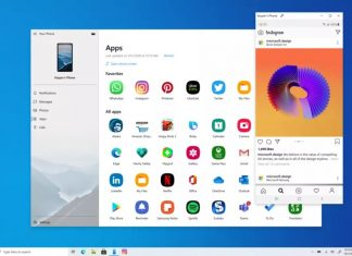 Microsoft Your Phone App update, Your phone app download, make call using windows 10 pc, run android apps in windows 10