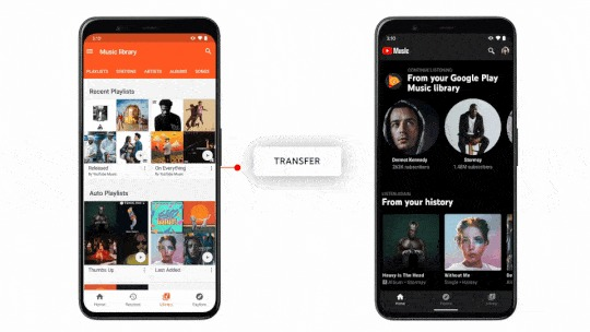 Google Play Music service is Going Away, Users are receiving mails to switch 'Youtube Music'