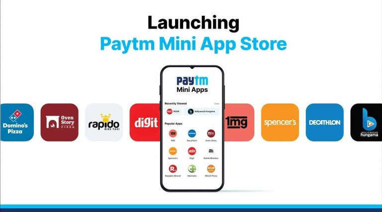 Paytm Launched its own Mini App Store for Indian Developers