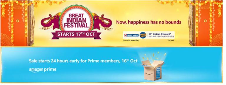 Grab best deals on Amazon Great Indian Festival Sale