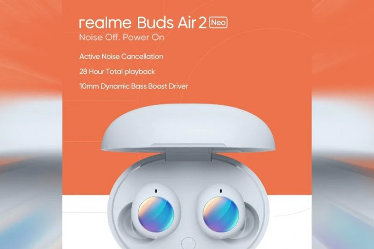 Realme Buds Air 2 Neo launched with ANC, up to 25 Hr Playback