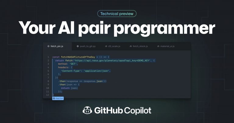 Github CoPilot: An OpenAI tool that generates code based on comments